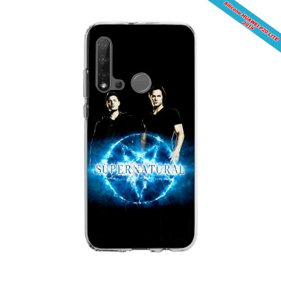 Coque silicone Huawei P40 Lite E Fan d'Overwatch Chacal super hero