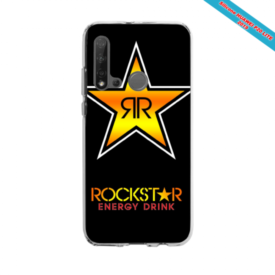 Coque silicone Huawei P40 Lite E Fan d'Overwatch Zenyatta super hero