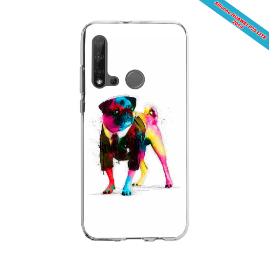 Coque silicone Huawei P40 Lite E Fan d'Overwatch Winston super hero