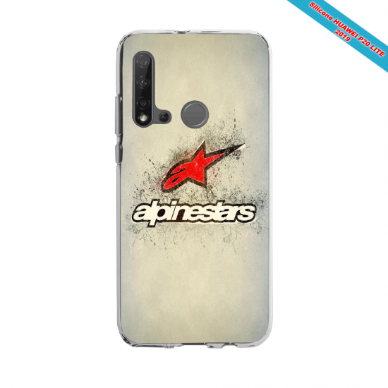 Coque silicone Huawei P40 Lite E Fan d'Overwatch Choppeur super hero