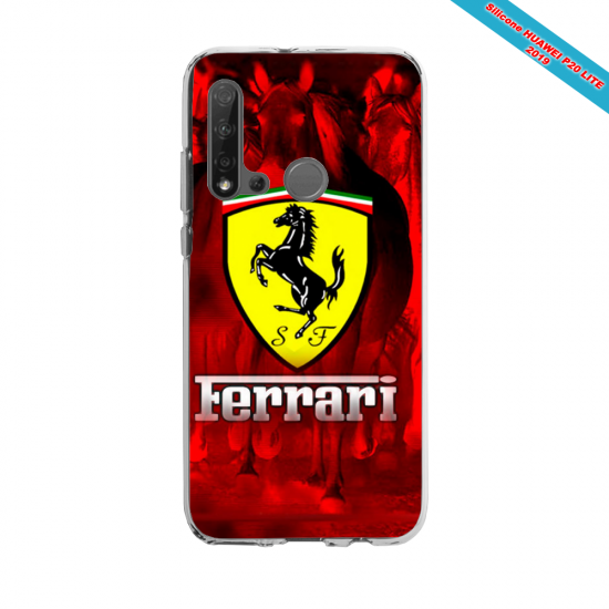 Coque silicone Huawei P40 Lite E Fan d'Overwatch Doomfist super hero