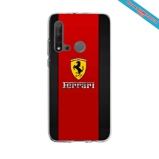 Coque silicone Huawei P40 Lite E Fan d'Overwatch Sigma super hero
