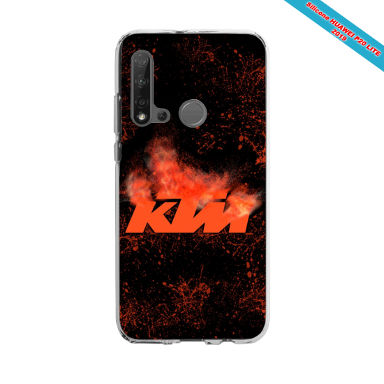 Coque silicone Huawei P40 Lite E Fan d'Overwatch Sombra super hero