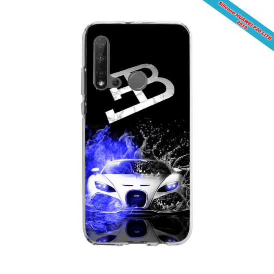 Coque silicone Huawei P40 Lite E Fan d'Overwatch Pharah super hero