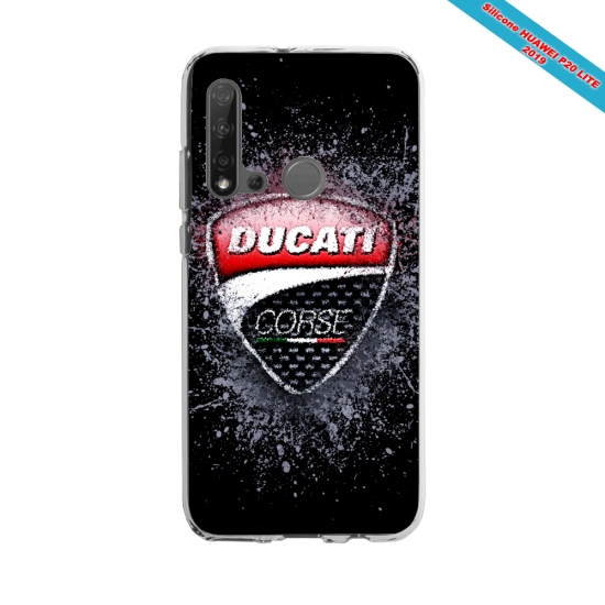 Coque silicone Huawei P40 Lite E Fan d'Overwatch Moira super hero