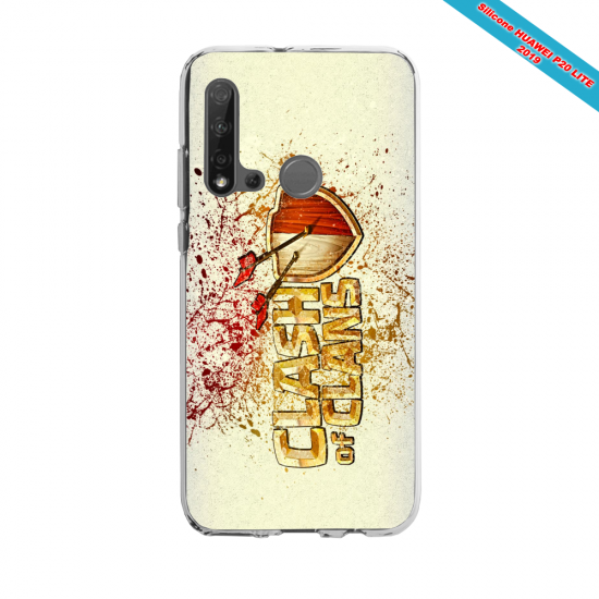Coque silicone Huawei P40 Lite E Fan d'Overwatch McCree super hero