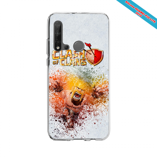 Coque silicone Huawei P40 Lite E Fan d'Overwatch Hanzo super hero