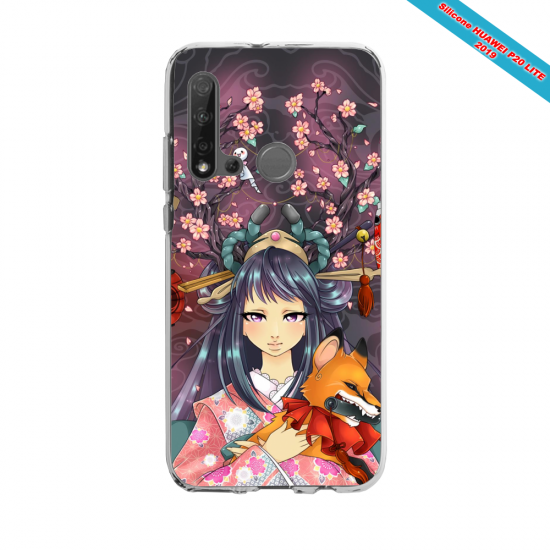 Coque silicone Huawei P40 Lite E Summer party