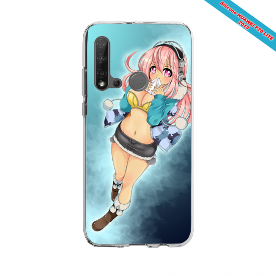 Coque silicone Huawei P40 Lite Summer party