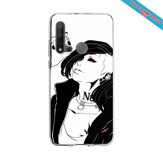 Coque silicone Huawei P40 Lite Yoga Papillon