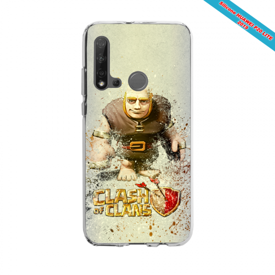 Coque silicone Huawei P40 Lite Fan d'Overwatch Zarya super hero