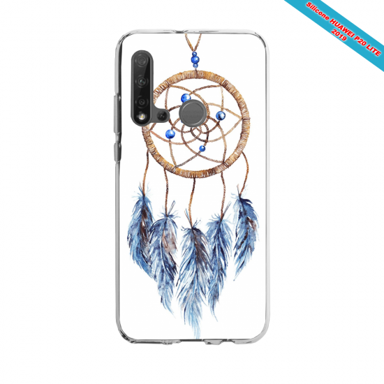 Coque silicone Huawei P40 Lite Fan d'Overwatch Tracer super hero