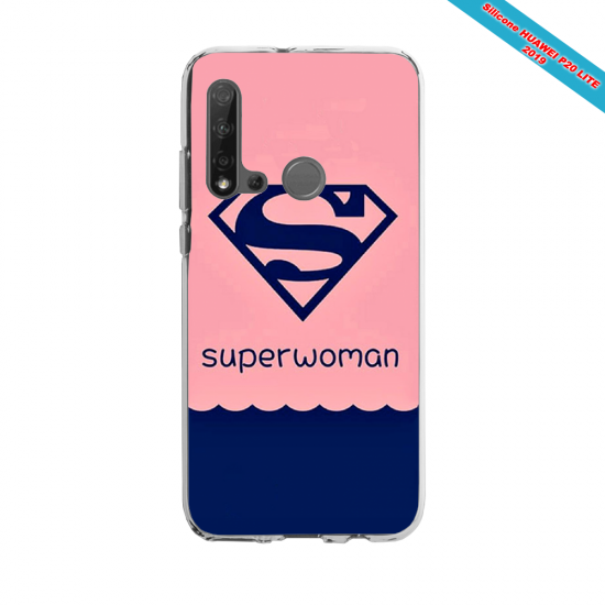 Coque silicone Huawei P40 Lite Fan d'Overwatch Torbjörn super hero