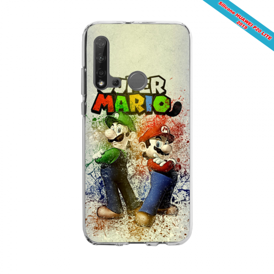 Coque silicone Huawei P40 Lite Fan d'Overwatch Symmetra super hero