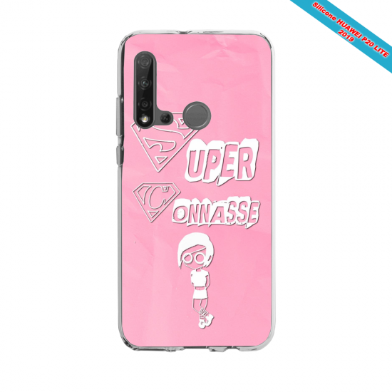 Coque silicone Huawei P40 Lite Fan d'Overwatch Sombra super hero