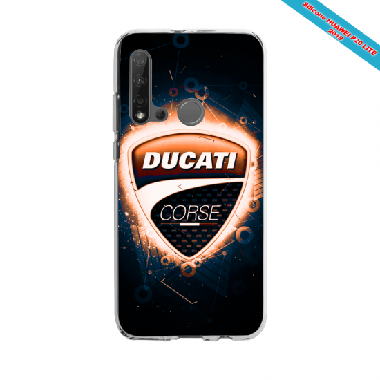 Coque silicone Huawei P40 Lite Fan d'Overwatch Baptiste super hero