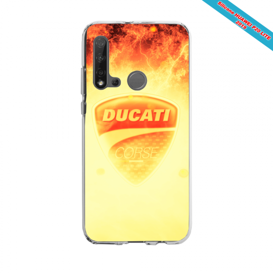 Coque silicone Huawei P40 Lite Fan d'Overwatch Ange super hero