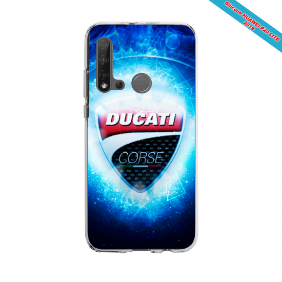Coque silicone Huawei P40 Lite Fan de Rugby Toulouse fury