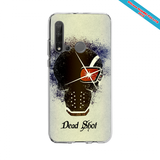 Coque silicone Huawei P40 Lite Fan de Rugby Montpellier fury