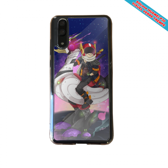 Coque silicone Huawei P40 Lite E Fan de BMW version super héro