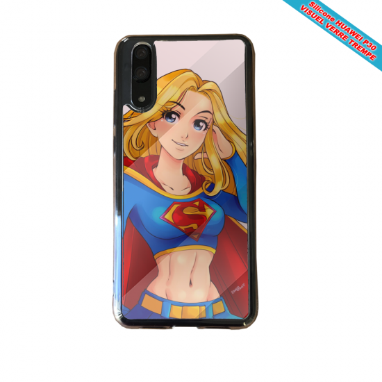 Coque silicone Huawei P40 Lite Fan de BMW version super héro