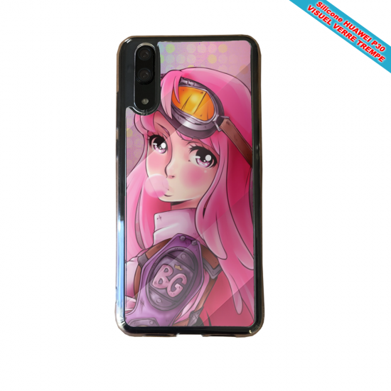 Coque silicone Huawei P30 Fan de BMW version super héro