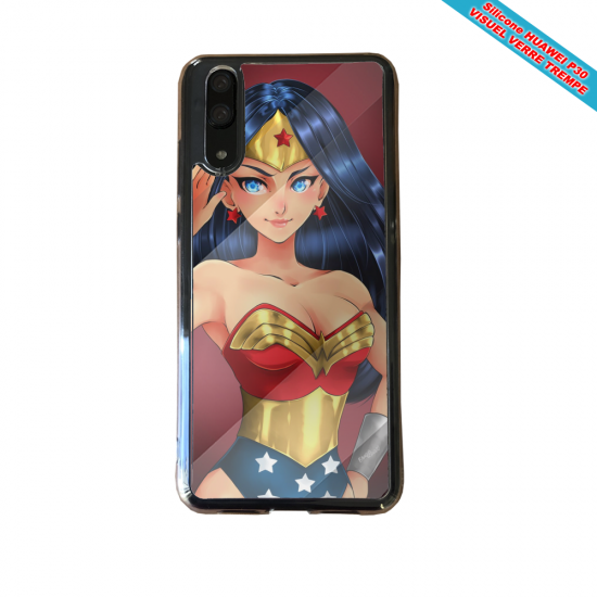 Coque silicone Huawei P20 LITE Fan de BMW version super héro