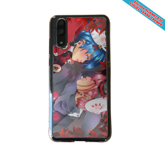 Coque silicone Huawei P10 Lite Fan de BMW version super héro