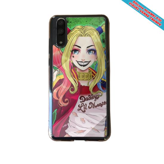 Coque silicone Huawei P9 Lite 2016 Fan de BMW version super héro