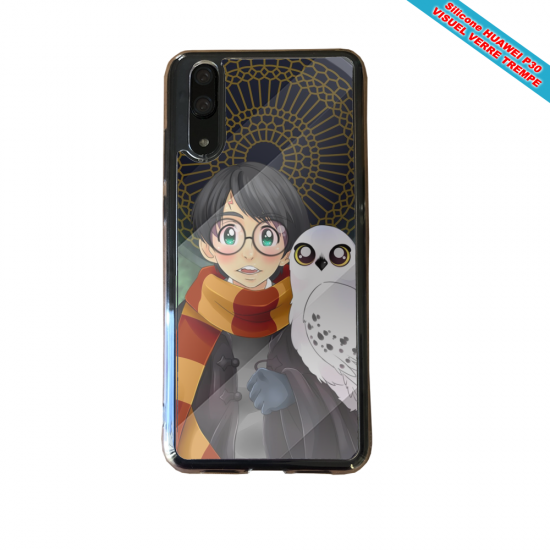 Coque silicone Huawei P9 Fan de BMW version super héro