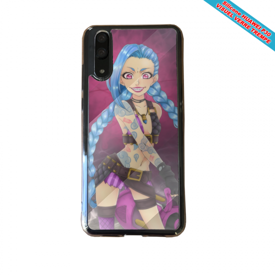 Coque silicone Huawei P8 lite 2017 Fan de BMW version super héro