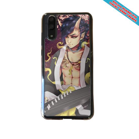 Coque silicone Huawei P8 lite Fan de BMW version super héro