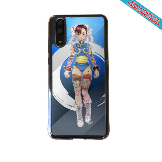 Coque Silicone Galaxy S20 PLUS verre trempé Fan de BMW version super héro