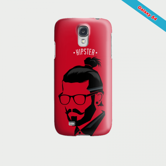 Coque Galaxy Note 2 Hipster coupe fun