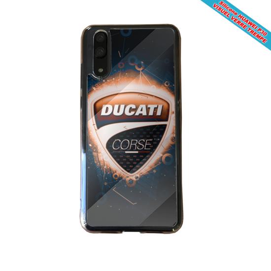 Coque silicone Galaxy A70 Fan de BMW version super héro
