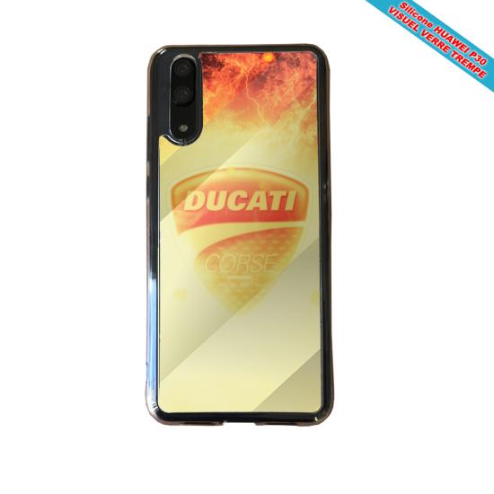 Coque silicone Galaxy A50 Fan de BMW version super héro