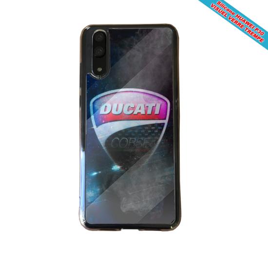 Coque silicone Galaxy A40 Fan de BMW version super héro