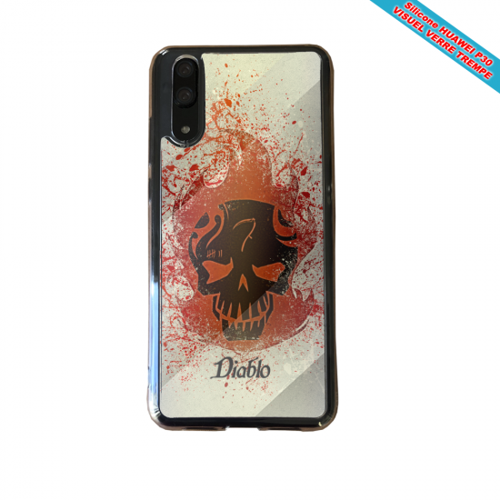 Coque silicone Iphone SE 2020 Fan de BMW version super héro