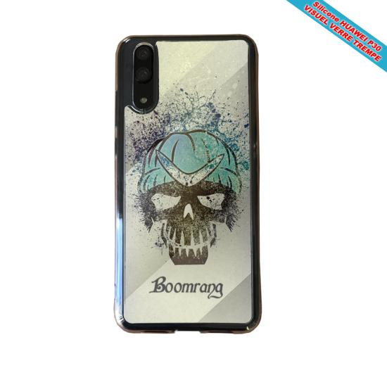 Coque silicone Iphone 11 Pro Max Fan de BMW version super héro