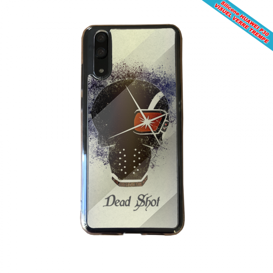 Coque silicone Iphone 11 Pro verre trempé Fan de BMW version super héro