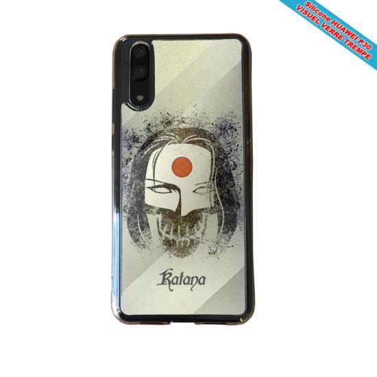 Coque silicone Iphone XS MAX Verre Trempé Fan de BMW version super héro