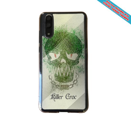 Coque silicone Iphone XS MAX Fan de BMW version super héro