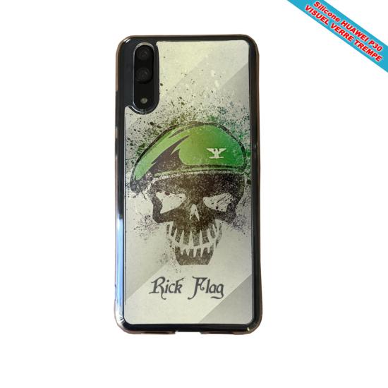 Coque silicone Iphone XR Verre Trempé Fan de BMW version super héro