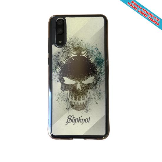 Coque silicone Iphone XR Fan de BMW version super héro