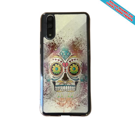 Coque Silicone iphone 7/8 PLUS Verre trempé Fan de BMW version super héro