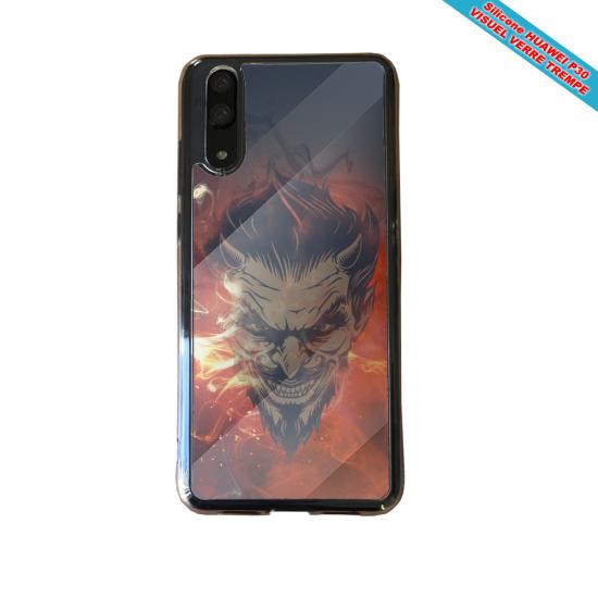 Coque Silicone iphone 7/8 verre trempé Fan de BMW version super héro