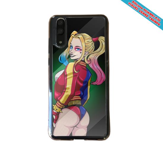 Coque Silicone iphone 5C Fan de BMW version super héro
