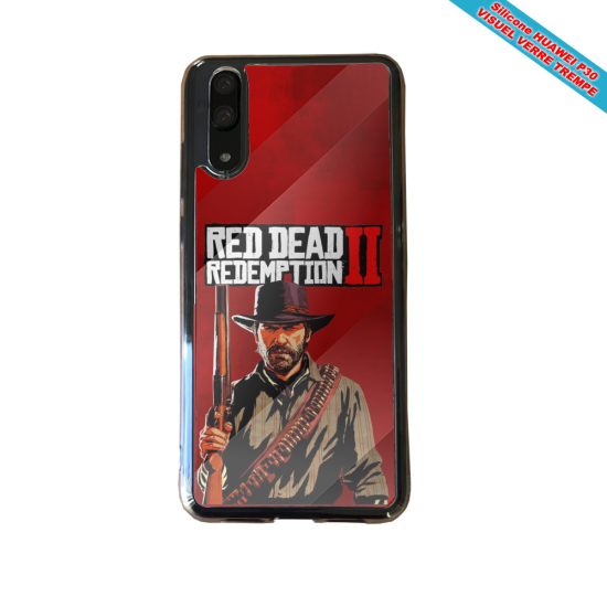 Coque silicone Huawei P40 Lite E Fan de BMW sport version super héro