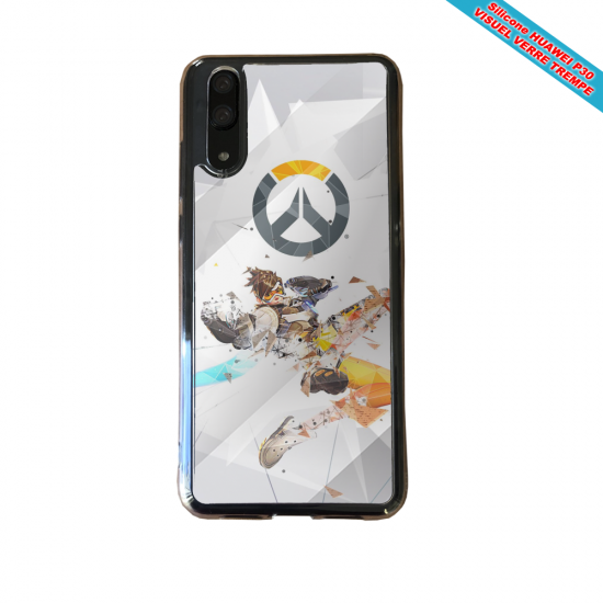Coque silicone Huawei P40 Lite Fan de BMW sport version super héro