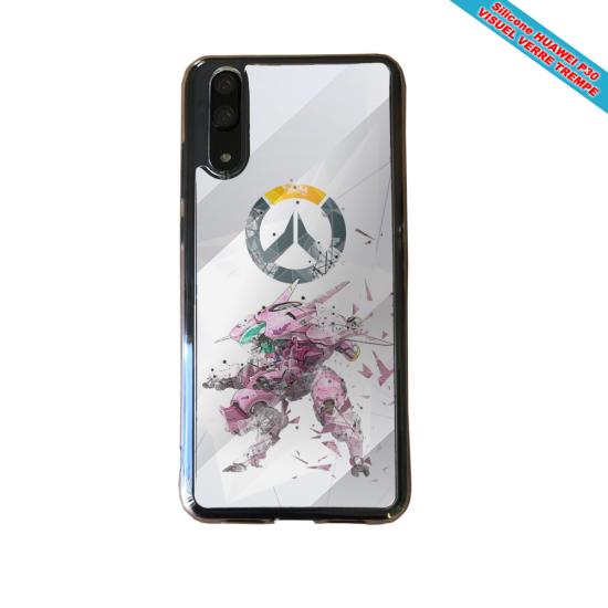 Coque silicone Huawei P40 Fan de BMW sport version super héro